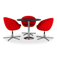 Conjunto Pop mesa + cadeiras