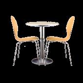 Conjunto Tom Duo mesa + 2 cadeiras