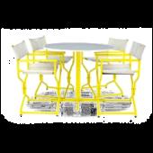 Conjunto Realizador mesa + 4 cadeiras