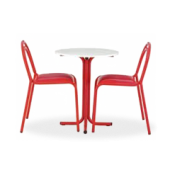Conjunto Luna Duo mesa + 2 cadeiras