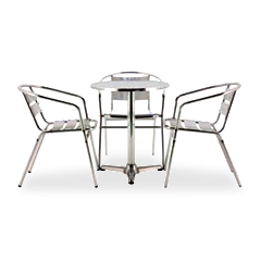 Conjunto Milenium mesa + 3 cadeiras