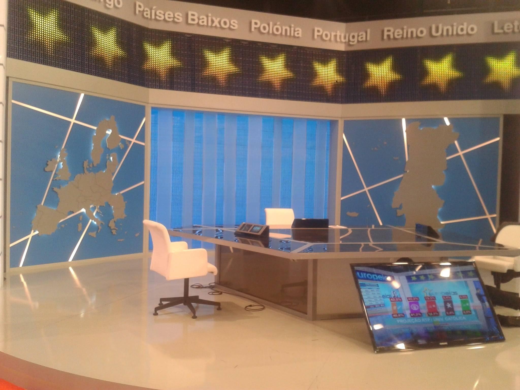 Cenário 3 Eleições Europeias RTP1