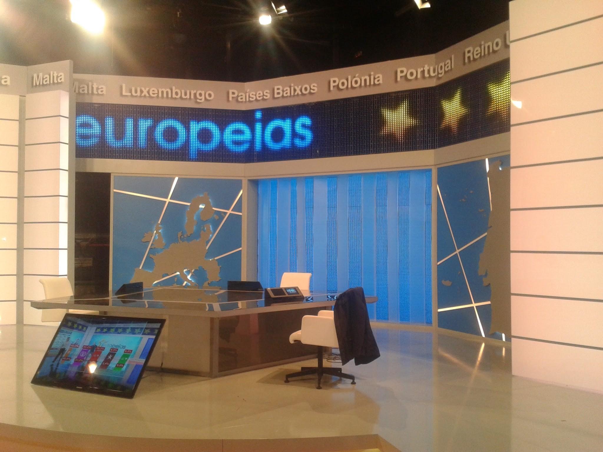 Cenário 9 Eleições Europeias RTP1